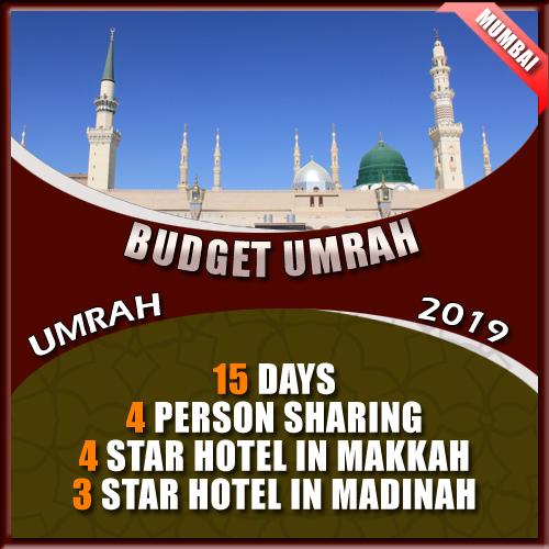 Budget umrah Mumbai