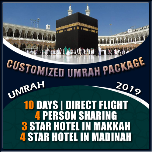 CUSTOMIZED UMRAH